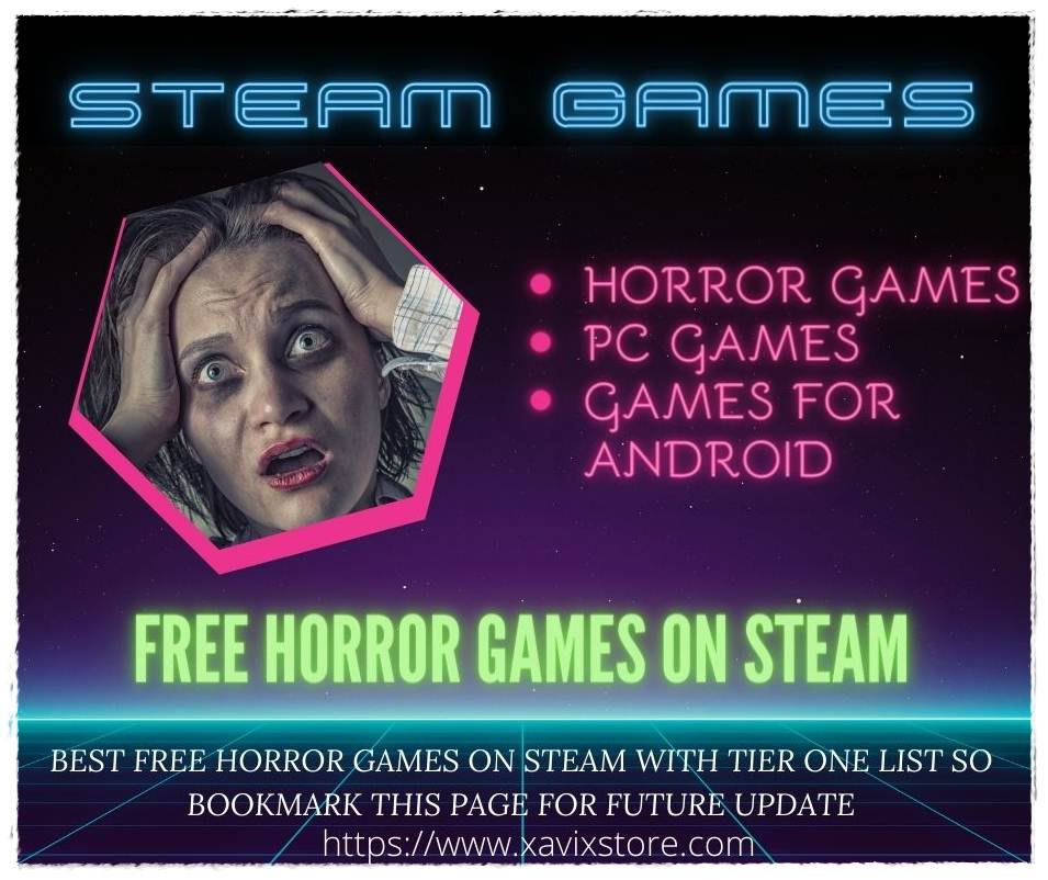 free horror games on steam