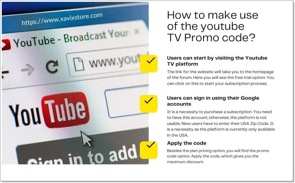 How to make use of the youtube TV Promo code